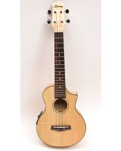 Ibanez UEW12E-OPN Acoustic/Electric Concert Ukulele Open Pore Natural