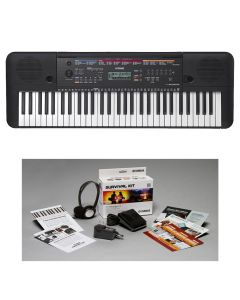 Yamaha PSR-E263 61-Key Portable Keyboard KIT