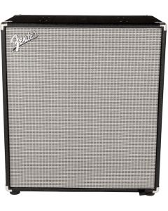 Fender Rumble 210 Bass Cabinet. Black and Silver