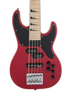 Jackson X Series Concert Bass CBXNTM V. Maple FB, Fiesta Red