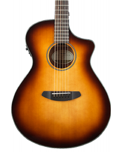 Breedlove Discovery Concert Sunburst CE Acoustic Electric Guitar. Sitka-Mahogany