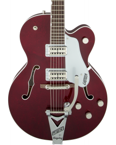 Gretsch G6119T Players Edition Tennessee Rose Electric Guitar with String-Thru Bigsby. Filter'Tron Pickups, Dark Cherry Stain