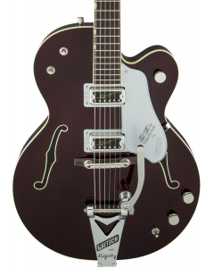 Gretsch G6119T-62 Vintage Select Edition '62 Tennessee Rose Hollow Body Electric Guitar with Bigsby. TV Jones, Dark Cherry Stain