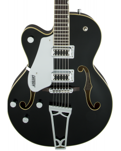 Gretsch G5420LH Electromatic Hollow Body Single-Cut Left-Handed Electric Guitar. Black