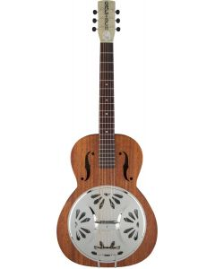 Gretsch G9200 Boxcar Round Neck Resonator Guitar Natural
