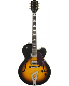 Gretsch G2420 Streamliner Hollow Body With Chromatic II Electric Guitar Aged Brooklyn Burst TGF11