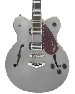 Gretsch G2622 Streamliner Center Block Guitar with V-Stoptail. Laurel FB, Broad'Tron BT-2S Pickups, Phantom Metallic