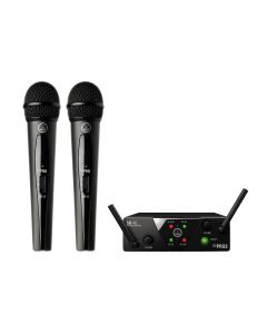 AKG WMS40 Mini Dual Vocal Wireless System. Band-A & B