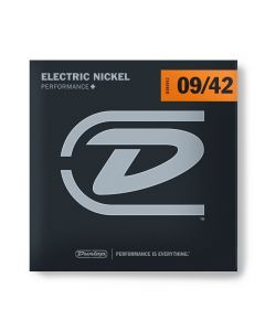 Dunlop DEN0942 Nickel Wound Electric Guitar Strings, Light, .09-.042