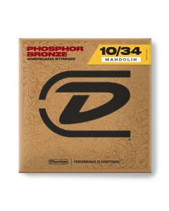Dunlop DMP1034 Phosphor Bronze Mandolin Strings 10-34