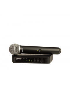 Shure BLX24/PG58-J11 Wireless Vocal System with PG58. J11 Band