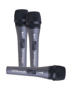 Sennheiser THREEPACK835 3 Pack of 835 Cardiod Dynamic Vocal Mic