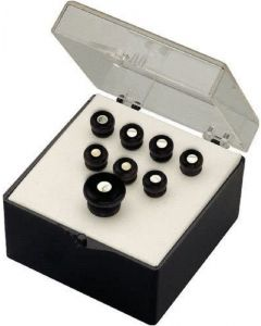 Martin Acoustic Bridge and end Pin Set, Black With Pearl Inlay 42
