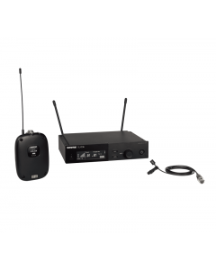 Shure SLXD14/93-G58 Wireless System with SLXD1 Transmitter and WL93 Lavalier Microphone. G58 Band