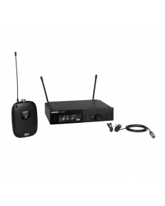 Shure SLXD14/85-G58 Wireless System with SLXD1 Transmitter and WL185 Lavalier Microphone. G58 Band
