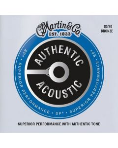 Martin MA170 Authentic Acoustic 80-20 Bronze Extra Light Guitar Strings 10-47