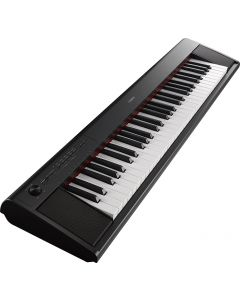 Yamaha NP12B 61-Key Piaggero Ultra-Portable Digital Piano Black Kit