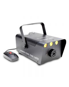 Eliminator AMBERFOG700LED 700 Watt Fog Machine with 3-3 Watt LEDs
