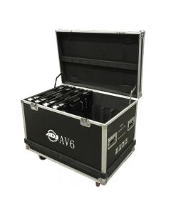 American DJ AV6030 AV6FC 8 Panel Flight Case for AV6