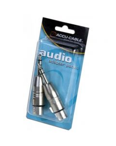 American DJ AXLRC3PMQF Female 3 Pin XLR to Male 1/4""