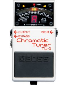 Boss TU-3 Chromatic Tuner Pedal TGF33