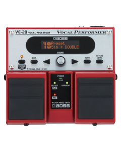 Boss VE-20 Vocal Performer Multi-Effects Pedal TGF33