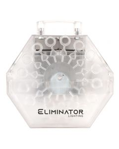 Eliminator BUBBLESTORMLED Clear Bubble Machine with LED