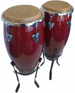 "Suzuki CS-2 Conga Set with Adjustable Stand. 10"" and 11"""