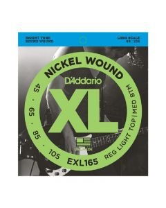 D'Addario EXL165 XL Nickel Wound Long Scale Bass Strings