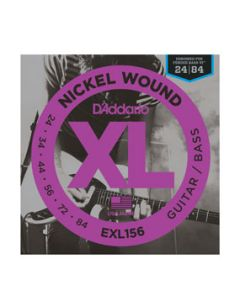 D'Addario EXL156 Nickel Wound Fender Bass VI Strings