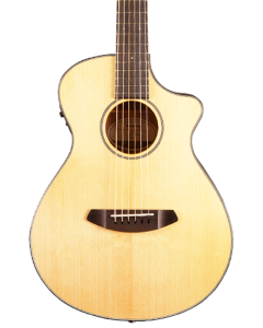 Breedlove Discovery Companion CE Acoustic Electric Guitar. Sitka-Mahogany