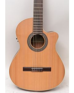 Ibanez Alhambra 1OP-CW Classical Acoustic-Electric Guitar Natural TGF11