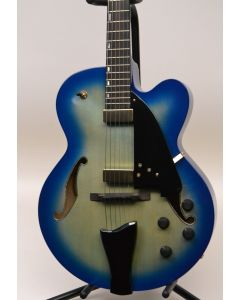 Ibanez Contemporary Archtop AFC155JBB Hollow Body Electric Guitar Jet Blue Burst W/CASE TGF11