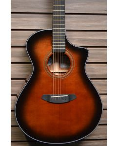 Breedlove Performer Concert Bourbon CE Acoustic Electric Guitar. Torrefied European-African Mahogany TGF11