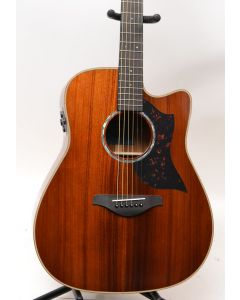 Yamaha A4KII Limited Edition Solid Koa Acoustic-Electric Guitar W/ CASE