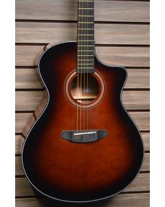 Breedlove Performer Concerto Bourbon CE Acoustic Electric Guitar. Torrefied European-African Mahogany TGF11
