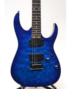 Ibanez RG421QM Electric Guitar SN 3382