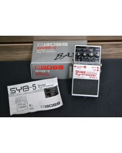 Boss SYB-5 Bass Synthesizer Pedal SN8652