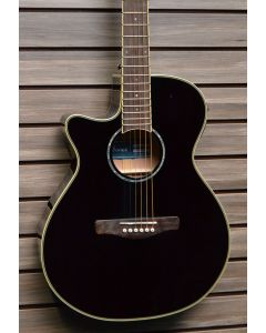 Ibanez AEG10LII-BK Lefty Acoustic-Electric Guitar SN 2291