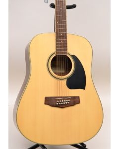 Ibanez PF1512NT Performance Series Dreadnought 12-String Acoustic Guitar Natural TGF11