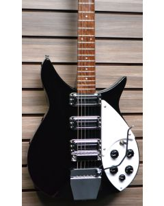 Rickenbacker  350V63 Liverpool Jetglo with Accent vibrato unit Installed. 2020 Model Mint!!  SN5743