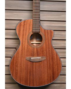 Breedlove Wildwood Concerto Satin CE Acoustic Electric Guitar. African Mahogany-African Mahogany TGF11