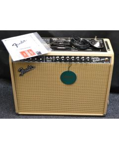 Fender Limited Edition British Tan '65 Twin Reverb 85W 2X12 Tube Guitar Combo Amp TGF33
