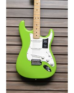 Fender Limited Edition Player Stratocaster Electric Guitar Electron Green