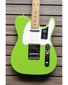 Fender Limited Edition Player Telecaster Electric Guitar Electron Green