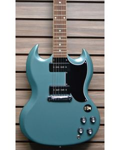 Gibson SGSP00FPCH1 SG Special, Faded Pelham Blue with Gibson Hard Case SN0184