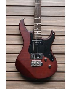 Yamaha PAC611VFMX-MRT Limited Edition Electric Guitar Matte Root Beer TGF11