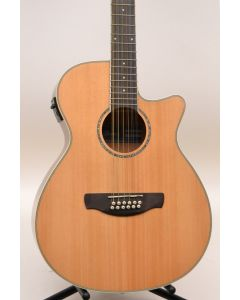 Ibanez AEG1812IINT 12-String Acoustic-Electric Guitar Natural TGF11