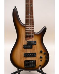 Ibanez SR655ENNF 5-String Electric Bass Flat Natural Browned Burst