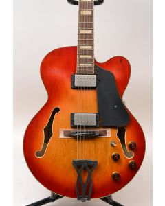 Ibanez AFV75VAL Artcore Vintage Hollowbody Electric Guitar Vintage Amber Burst Low
